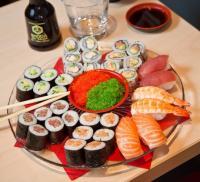 Sushimax vous propose le lundi ses Sushis à Volonté sur place uniquement au 14 place du grand jardin !!!