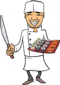 C'est vous le chef japonais, composez vos propres recettes de sushis en choisissant certains ingrédients